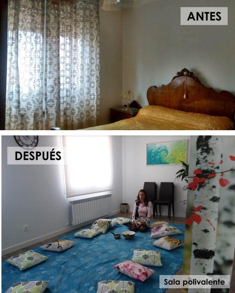 Antes y despues de una casa convertida 7