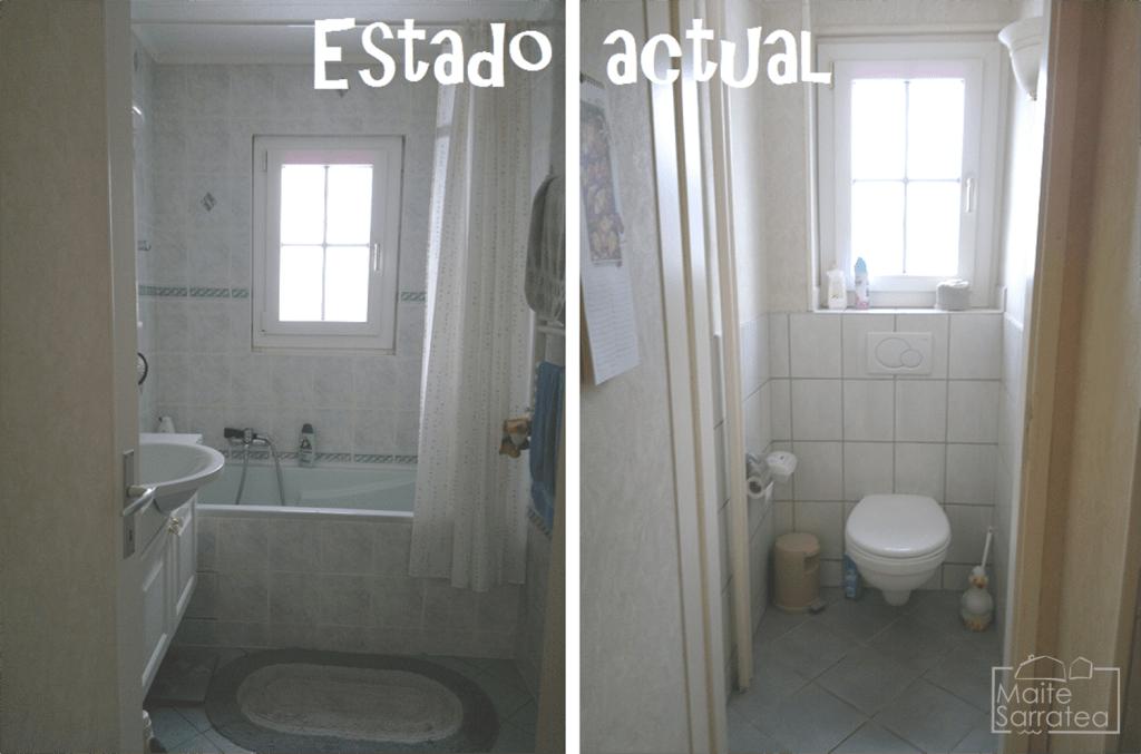 Cómo convertir 2 baños poco prácticos en 1 7