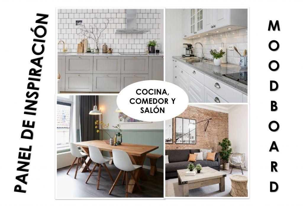 Panel de inspiración o moodboard para definir el estilo y decoración de mi casa4