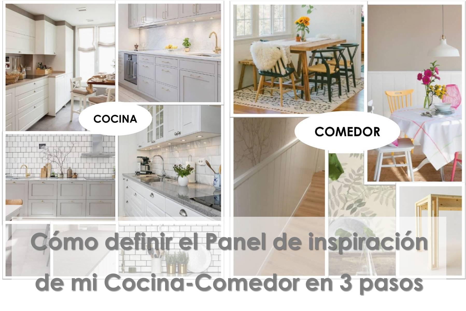 Cómo definir el panel de inspiración de mi cocina-comedor en 3 pasos 4