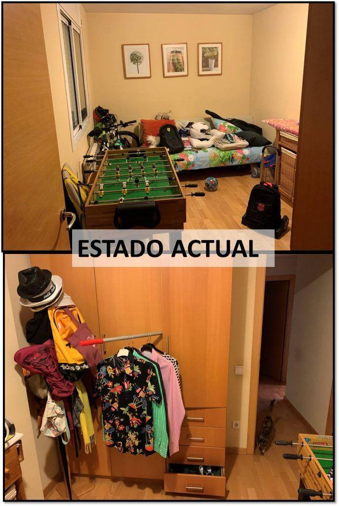 habitación juvenil de 10 m2 1