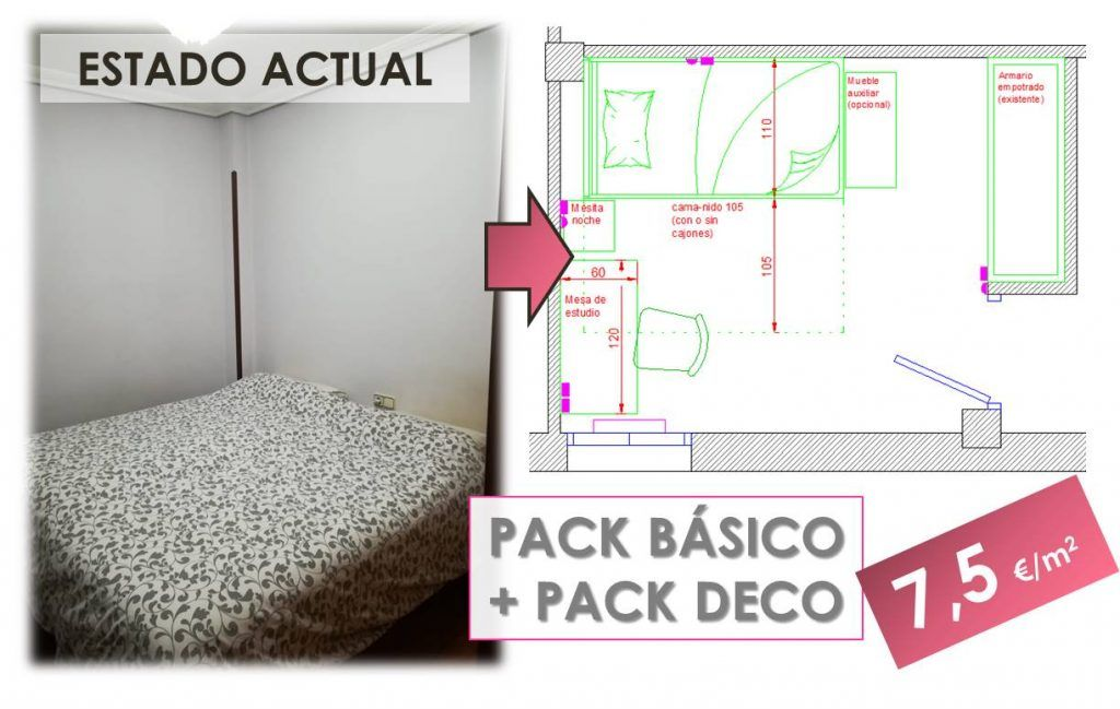 Cómo convertir una habitación sin gracia en un refugio juvenil 0