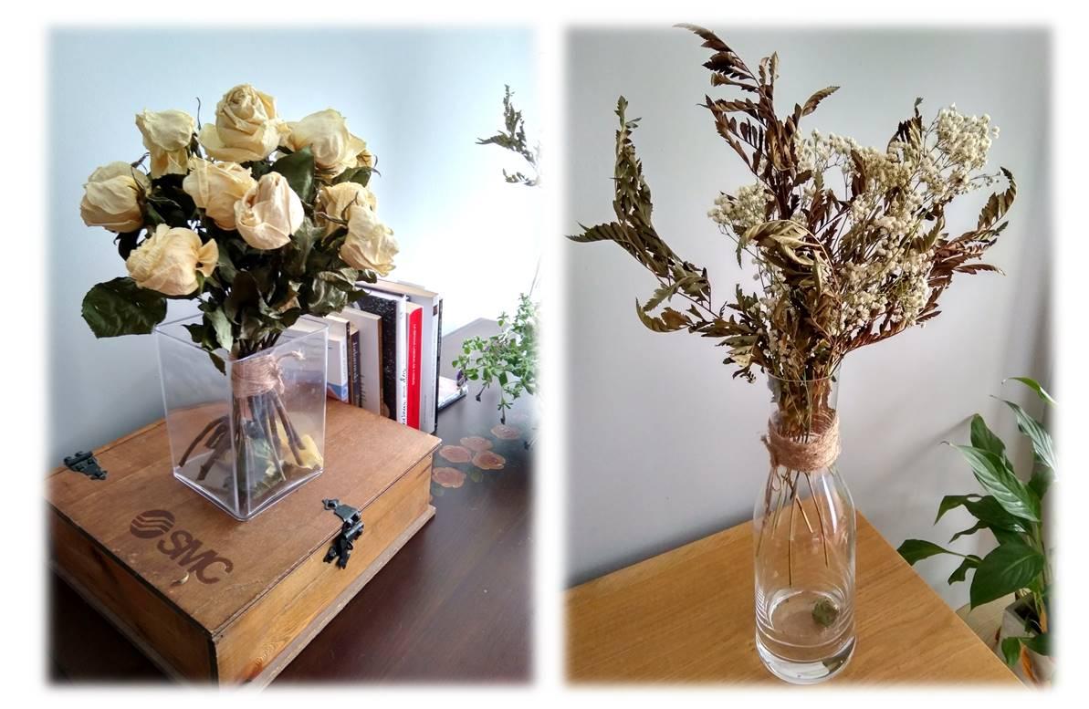 Cómo secar flores 11