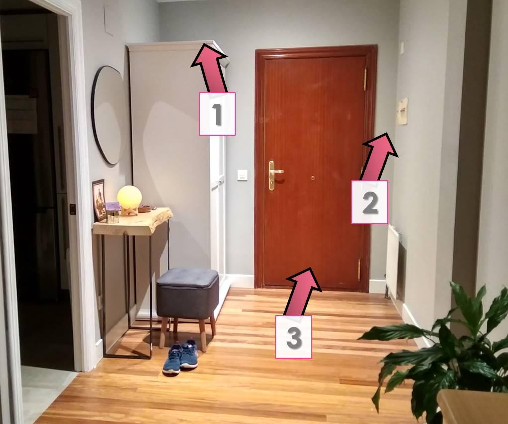cómo decorar un recibidor 9