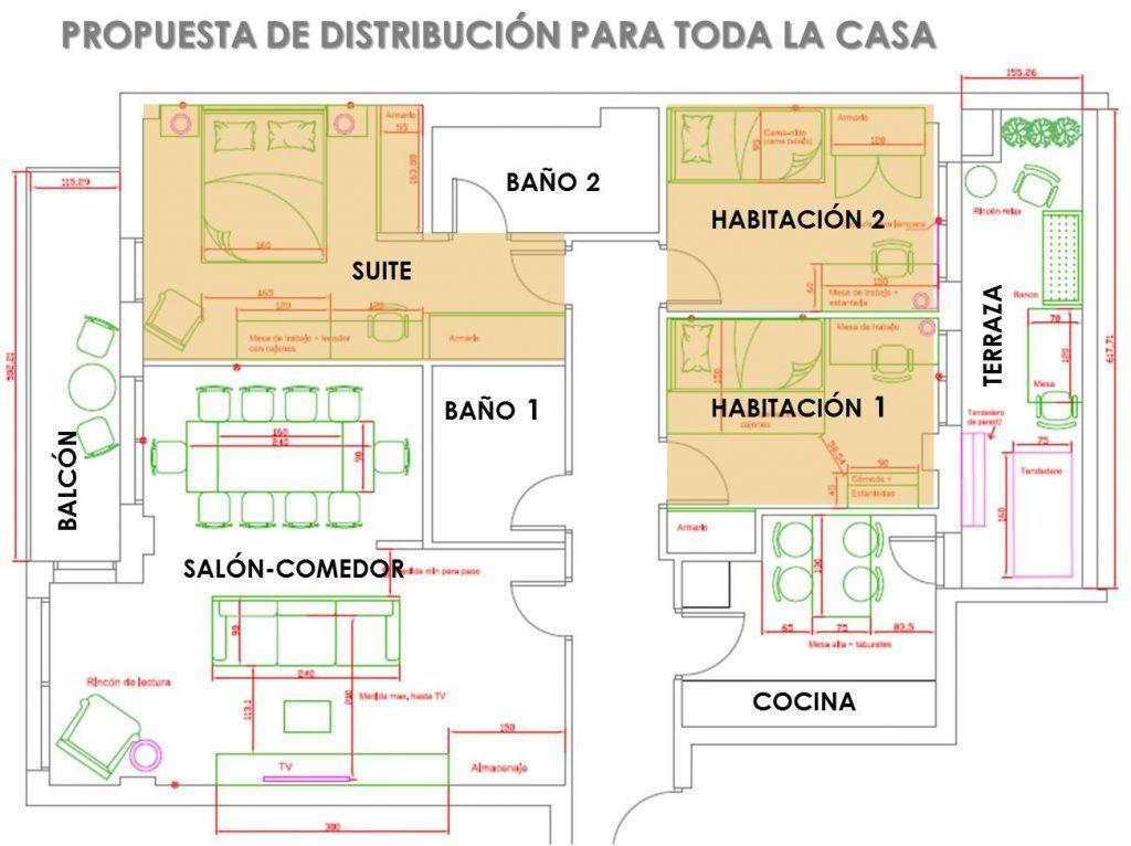 Como decorar 3 habitaciones muy distintas 11