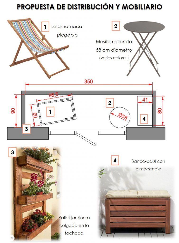 Cómo aprovechar un balcón 4
