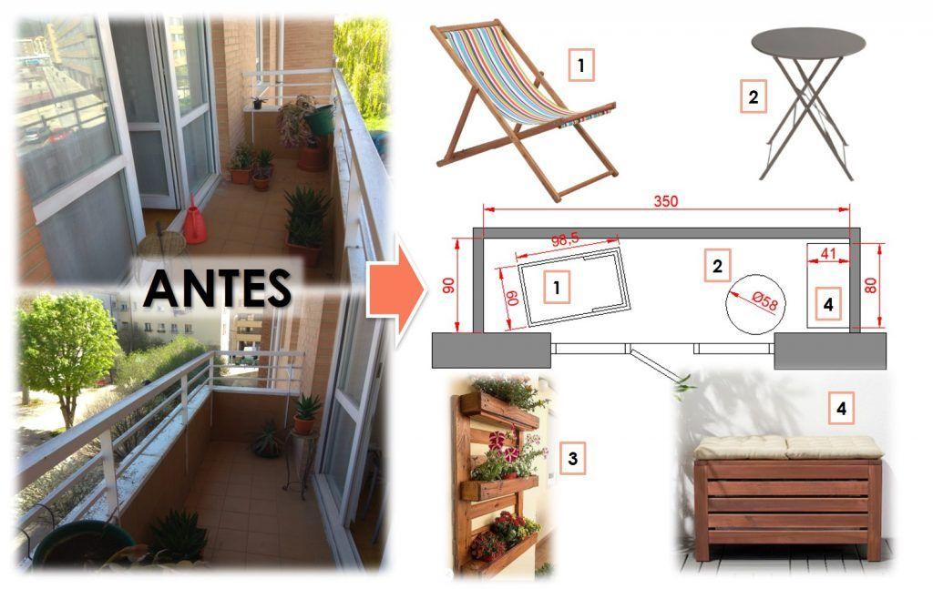 Cómo aprovechar un balcón 7