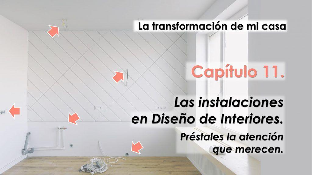 instalaciones en diseño de interiores