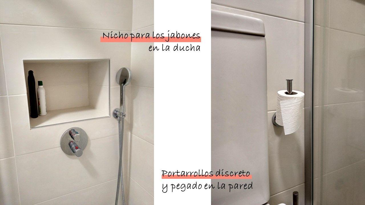El antes y después del baño pequeño 3