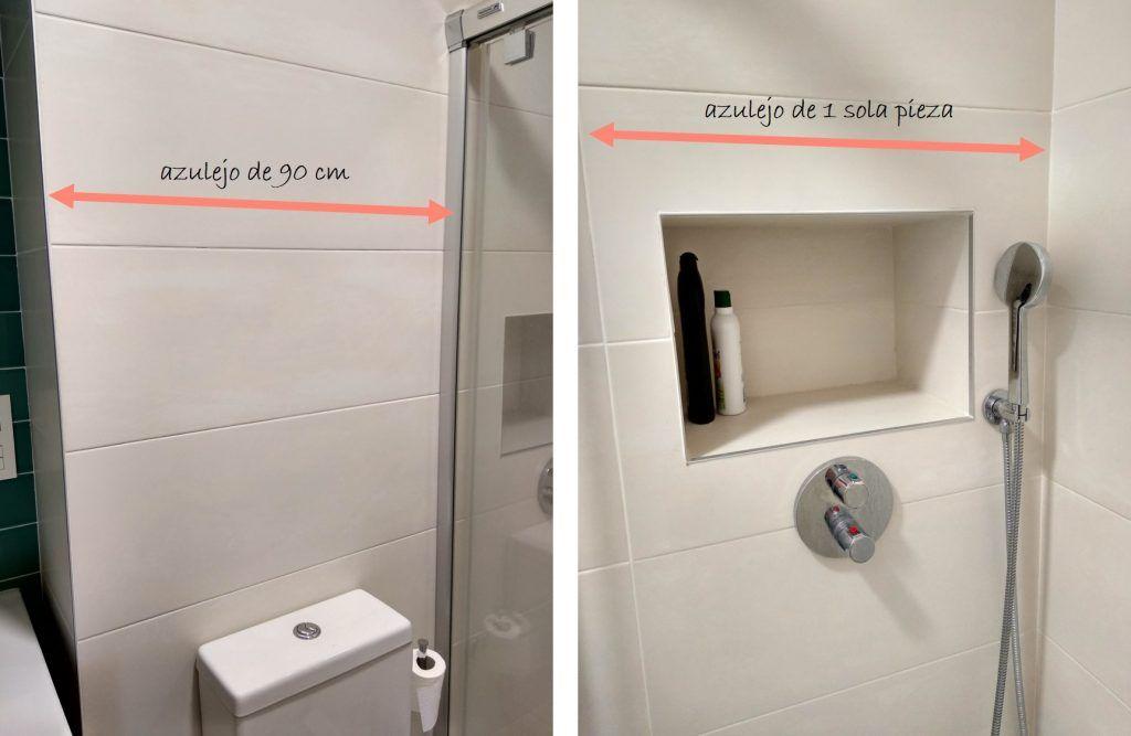 El antes y después del baño pequeño 6